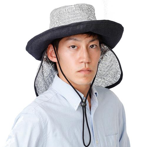 男女に人気のテンガロハットタイプ。背中の暑さ対策もできます