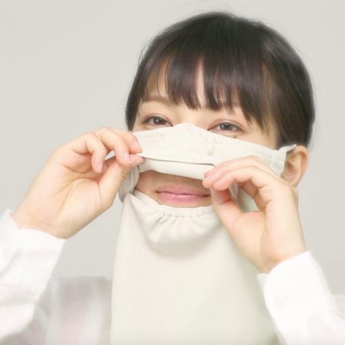 特許取得の立体構造。息苦しくないマスクの秘密